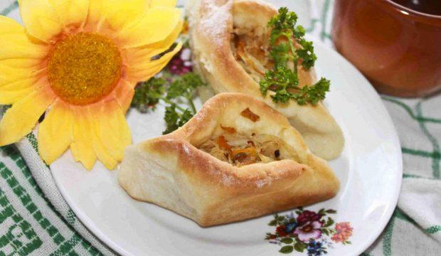 рецепт дрожжевого пирога с квашеной капустой