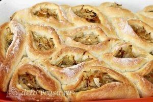 Дрожжевые пирожки с квашеной капустой: Выпекаем пирожки