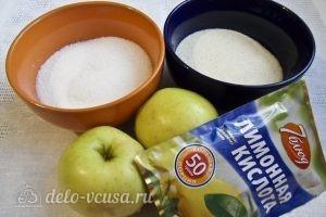 Яблочный мусс: Ингредиенты