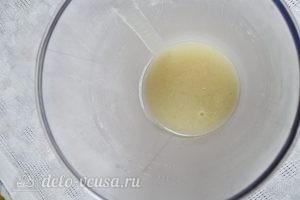 Яблочный мусс: Отправляем смесь в холодильник
