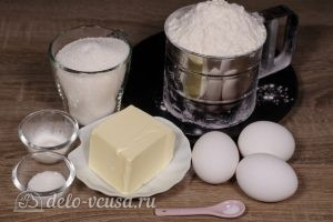 Печенье через мясорубку: Ингредиенты
