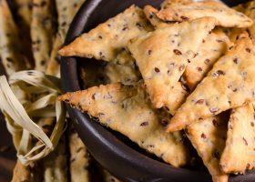 Рецепт печенье с семенами льна