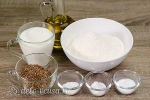 Печенье с семенами льна: Ингредиенты