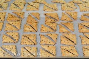 Печенье с семенами льна: Выпекаем до готовности