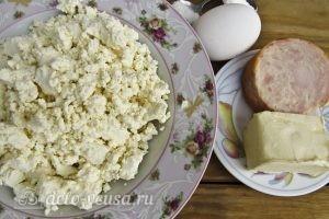 Плавленый сыр с ветчиной: Ингредиенты