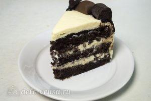 Шоколадный торт на сгущенке