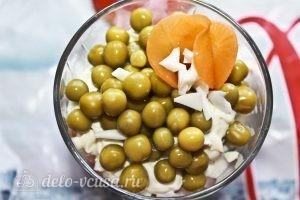 Салат-коктейль: Украшаем салат