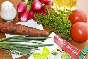 Салат из свежей моркови: Ингредиенты