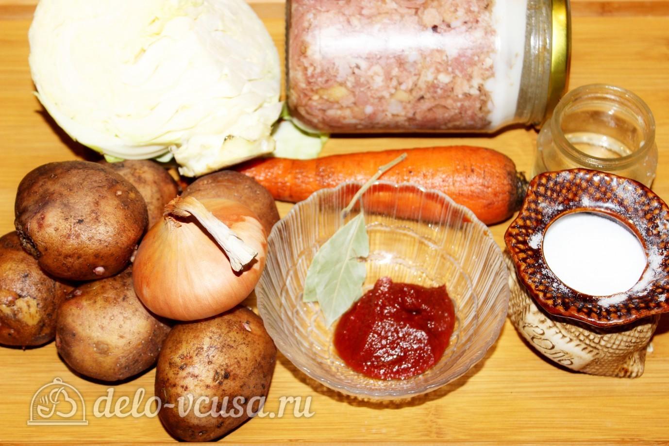 рецепт вермишелевого супа с тушенкой