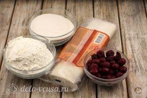 Слойки с вишней: Ингредиенты
