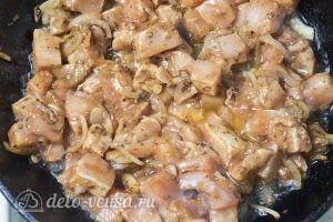 Спагетти с курицей: Добавляем курицу