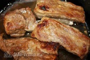 Свиные ребрышки в духовке: Оставляем ребра в духовке для зарумянивания