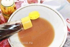 Свиные ребрышки в духовке: Добавляем соевый соус
