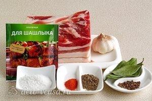 Свиная грудинка в мультиварке: Ингредиенты