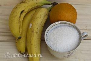 Банановый джем: Ингредиенты