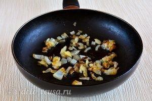Чуду с картошкой: Обжарить лук