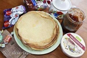 Десерт с блинами: Ингредиенты