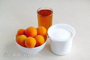 Джем из абрикосов в яблочном соке: Ингредиенты