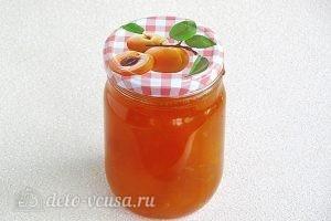 Джем из абрикосов в яблочном соке