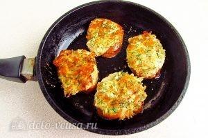 Горячие бутерброды с картофелем: Обжариваем с обеих сторон