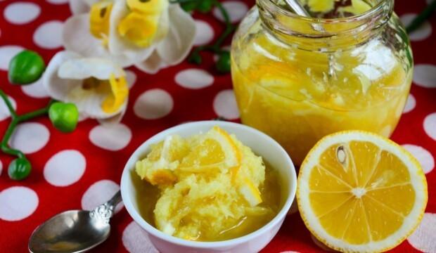 Имбирное варенье с лимоном и медом