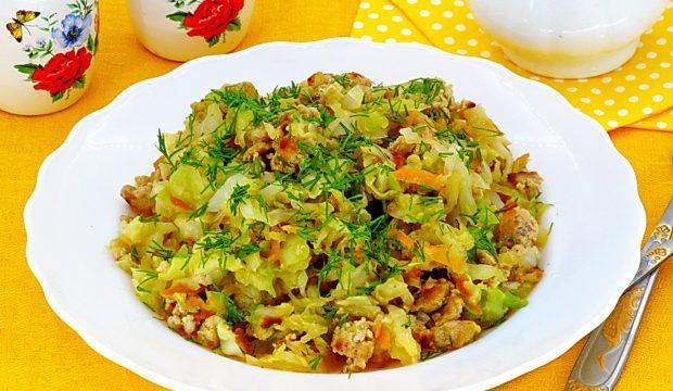 Паста с курицей и овощами в сливочном рецепт