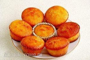 Апельсиновые кексы: Остужаем кексы