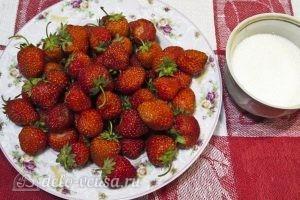 Клубничный компот на зиму: Ингредиенты