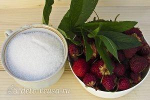 Клубничный компот с мятой: Ингредиенты