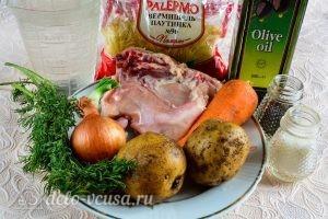 Куриный суп с вермишелью и картошкой: Ингредиенты