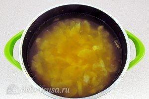 Лимонный джем: Варим лимонную мякоть и цедру