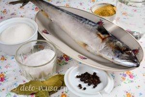 Домашняя маринованная скумбрия: Ингредиенты