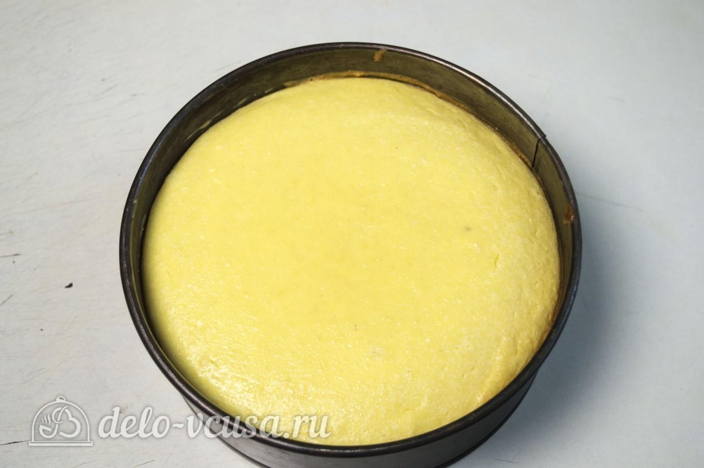 Миндальный чизкейк: Остужаем готовый чизкейк