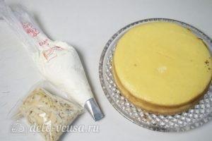 Миндальный чизкейк: Начинаем декорировать чизкейк