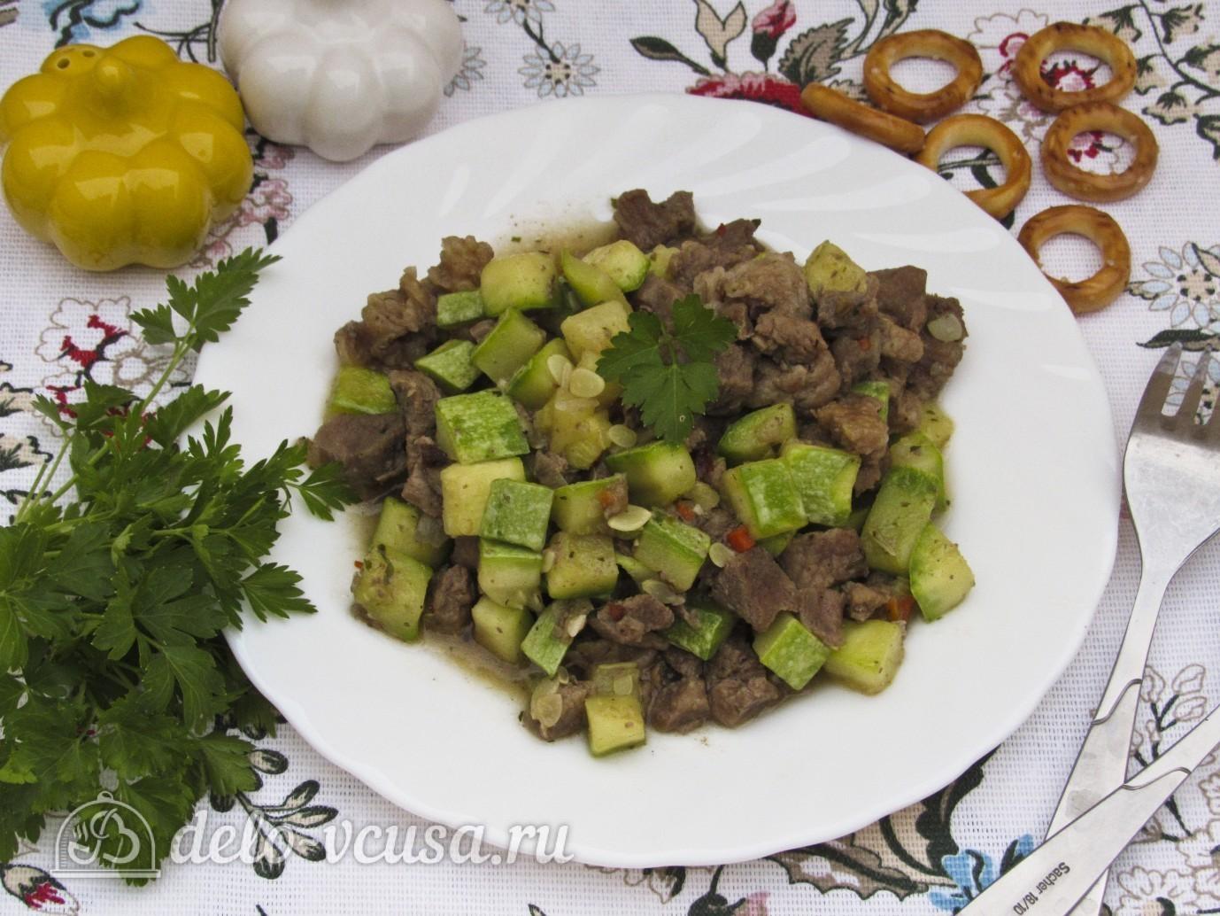 кабачки и мясо рецепты