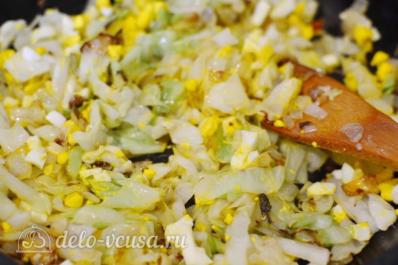 начинка для пирожков яйцо и капуста