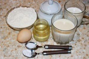 Оладьи на йогурте: Ингредиенты