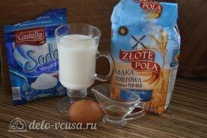 Оладьи на молоке: Ингредиенты