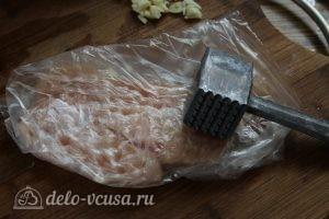 Отбивная из куриного филе: Отбиваем филе