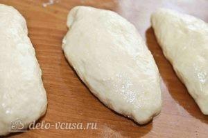 Пирожки на кефире с яйцом и зеленым луком: Лепим остальные пирожки
