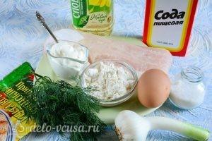 Рыба в кляре: Ингредиенты
