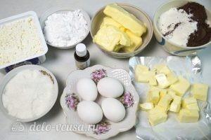 Капкейки с творожным кремом: Ингредиенты