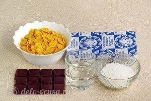 Шоколадный санди с кукурузными хлопьями: Ингредиенты