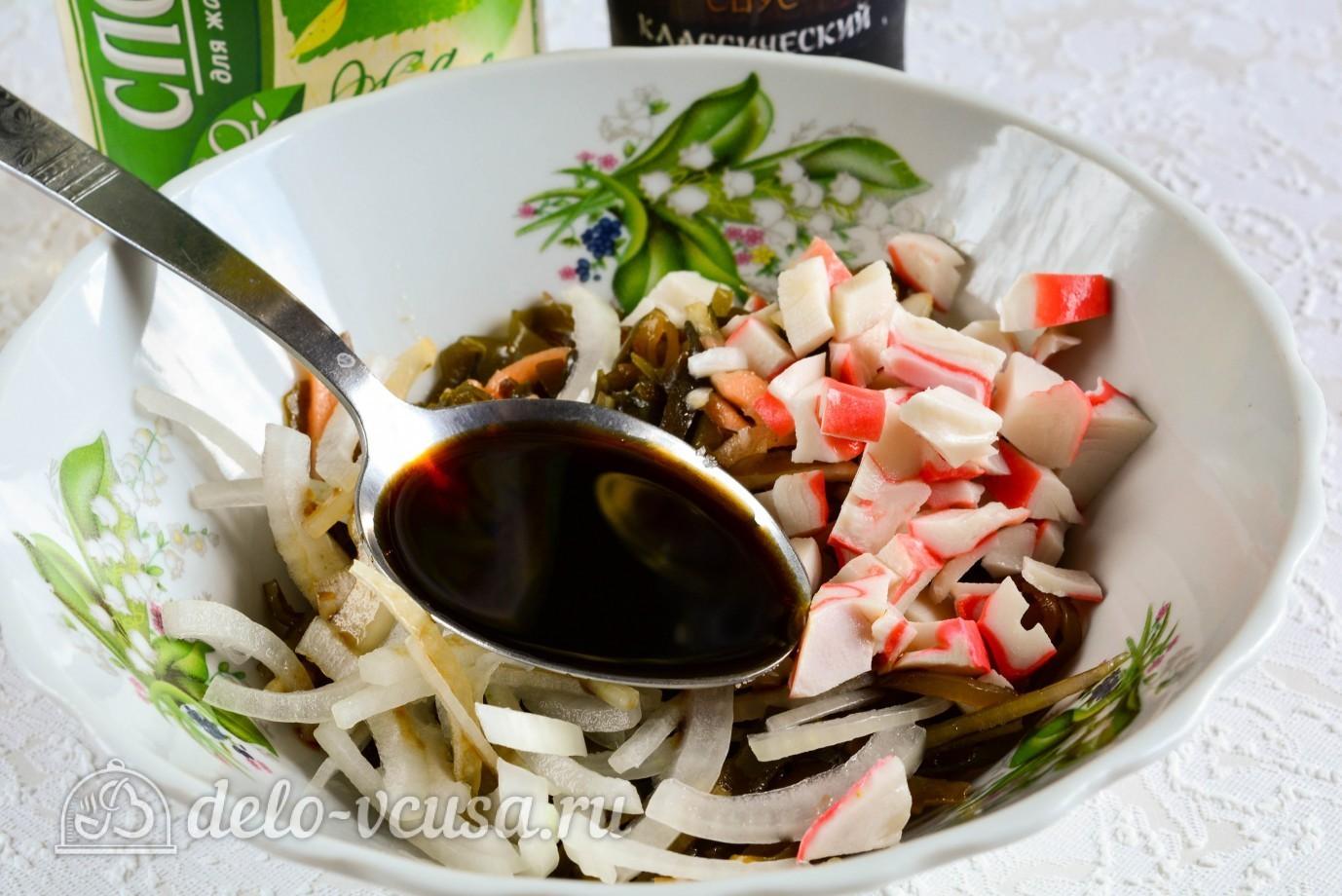 морской салат рецепт с крабовыми
