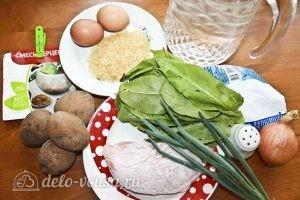 Щавелевый суп с курицей: Ингредиенты