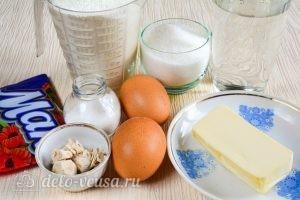 Сладкие булочки из дрожжевого теста: Ингредиенты