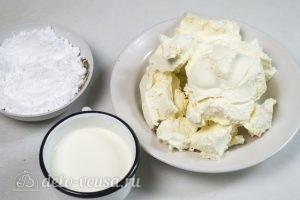 Сливочно-сырный крем: Ингредиенты