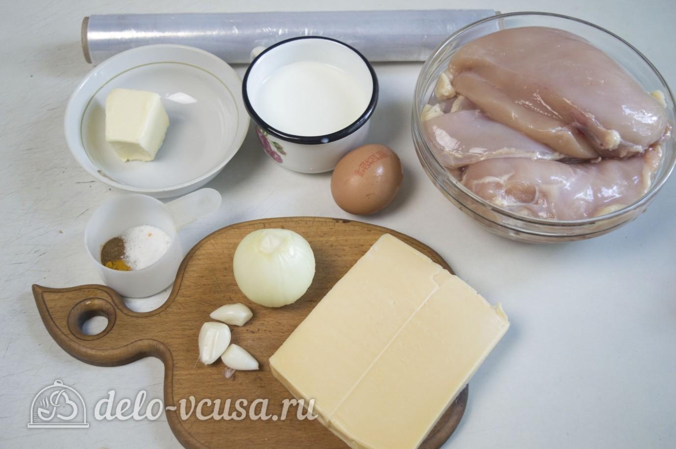 Сосиски куриные с сыром: Ингредиенты