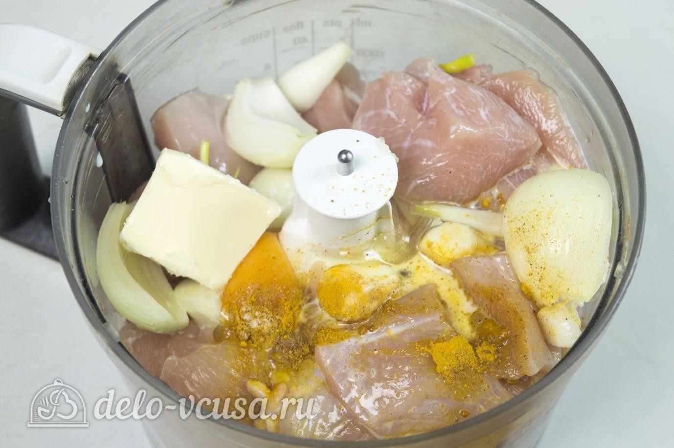 Сосиски куриные с сыром: Сделать фарш