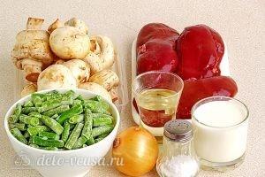 Почки с фасолью: Ингредиенты